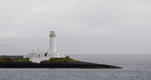 White Lighthouse, Oban Scotland Stock Photo