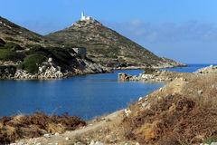 Lighthouse near Knidos Stock Photo