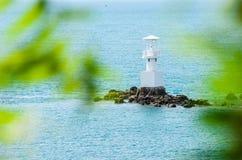 White Lighthouse Stock Photo