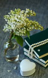 White Lilac flowers Stock Photo