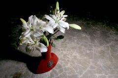 white lily bukiet. Zdjęcia Royalty Free