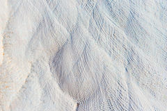 White lime deposits in Pamukkale Royalty Free Stock Photos