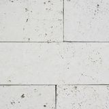 White limestone brick wall's fragment Royalty Free Stock Image