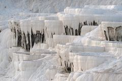 White limestone formations Stock Photography