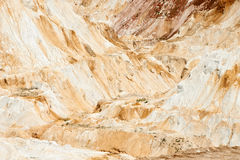 White limestone in a quarry Stock Photos
