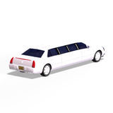 White limo Stock Images