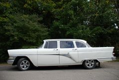 White limousine Royalty Free Stock Images