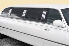 White limousine - detail Stock Image