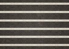 White line on  asphalt background Royalty Free Stock Photography
