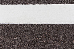 White line and asphalt road texture Stock Photo