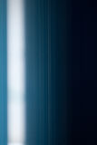 White line on blue. A white line on a blue background Royalty Free Stock Images