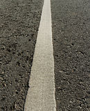 White line on the road. Stock Photography