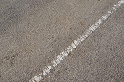 White line on the road Stock Images