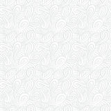 White linear texture in vintage style. With ornament imitating frost pattern on windows for Christmas and holiday decor or wedding invitation. Seamless vector Royalty Free Stock Images