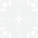 White linear texture in vintage style. With ornament imitating frost pattern on windows for Christmas and holiday decor or wedding invitation. Seamless vector Royalty Free Stock Photos