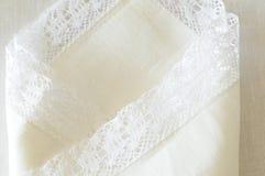 White linen Stock Images