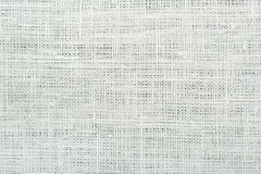 White linen canvas. Linen canvas white texture background, high detailed Royalty Free Stock Photos