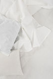 White linen cloth Royalty Free Stock Photography