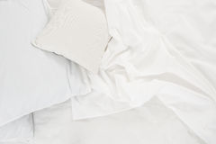 White linen cloth Stock Photo