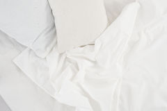 White linen cloth Stock Image