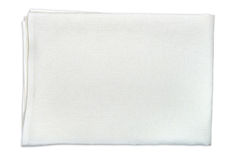 White linen fabric Stock Image
