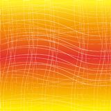 White lines on a orange background royalty free stock images