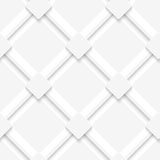 White lines and squares layered Royalty Free Stock Image