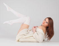 White lingerie Royalty Free Stock Photo