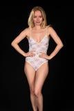 White lingerie Royalty Free Stock Photo