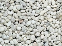 White little stones Royalty Free Stock Photography