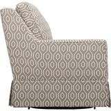 White Living Rolled Top Club Chair royalty free stock image