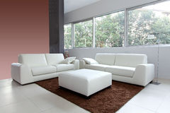 White living room Stock Photos