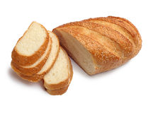 White loaf Royalty Free Stock Photography