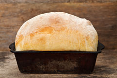 White loaf Royalty Free Stock Images