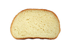 White loaf slice Royalty Free Stock Images