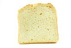White loaf on white background Stock Photos