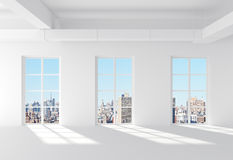 White loft Stock Photography