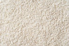 White Long Grain Rice Stock Photo