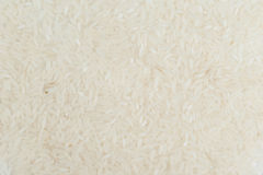 White long grain rice texture  jasmine for background Royalty Free Stock Photos