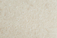 White long grain rice texture  jasmine for background Stock Photography
