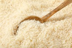 White long grained rice Royalty Free Stock Photography