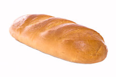 White long loaf Royalty Free Stock Photo