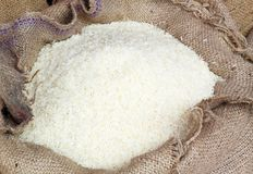 White long rice Royalty Free Stock Photography