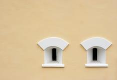White loop-holes Stock Photo