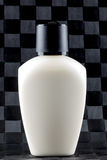 White Lotion Bottle Stock Image