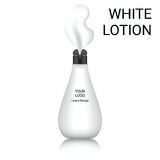 White lotion bottle Stock Images