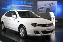 White lotus l3 gt car Stock Image