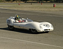 White Lotus Racecar Royalty Free Stock Image