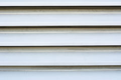 White louver vents Royalty Free Stock Photography