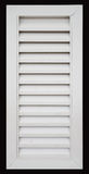 White louvered door Stock Images